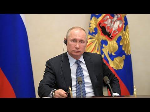Совещание Владимира Путина по ситуации в Норильске. Полное видео смотреть видео онлайн