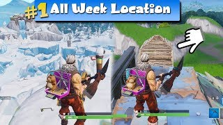 Fortnite Season 7 | WEEK 1 CHALLENGE LOCATIONS | METAL TURTLE, SUBMARINE , CROWN OF RV's