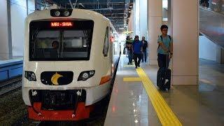 Nyaman dan Tepat Waktu | Naik Kereta Bandara Soekarno Hatta dari Stasiun Sudirman Baru