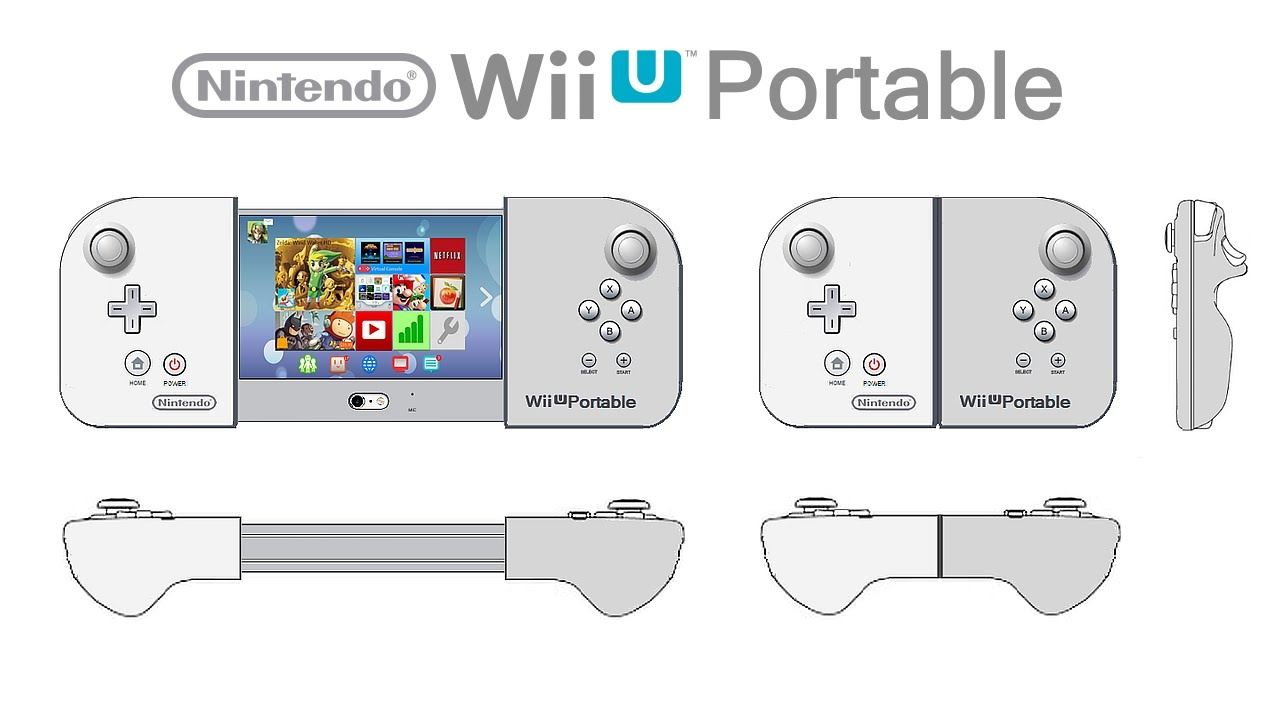 Nintendo nx or wii u portable concept by nopie youtube for Wii u portable mod