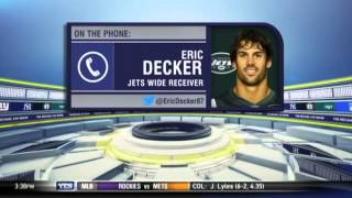 Eric Decker on the Jets & 2014 NFL season - The Michael Kay Show