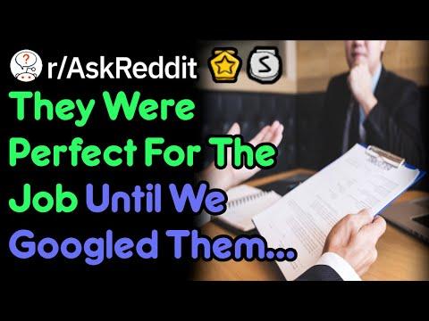 Does Your Employer Google You? (Job Stories r/AskReddit)
