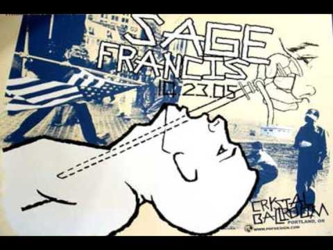 Sage Francis- Embarrassed