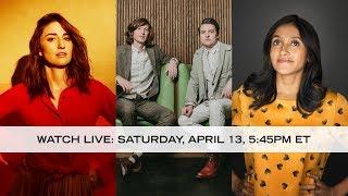 Watch live: Sara Bareilles, The Milk Carton Kids & Aparna Nancherla - Live from Here