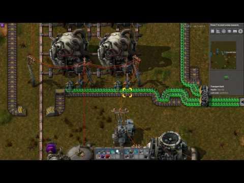 Factorio Uranium Reactor Refulling with Combinators V2