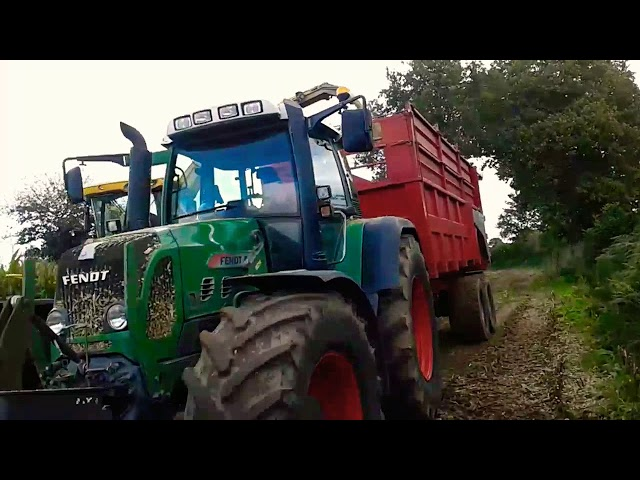 ETA Merle | Ensilage de mais 2017|  new Holland ts 100 + chevance |John derre + chevance |