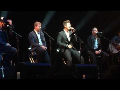 3. Safest Place To Hide & I Got You - Backstreet Boys live acoustic.