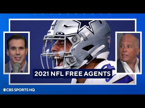 2021 NFL Free Agent Rankings  Dak, Juju, & More  CBS Sports HQ