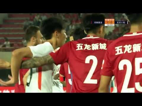 2018 CHA CSL   Round 10   Henan Jianye vs Beijing Renhe