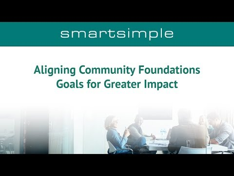 Aligning Community Foundation Goals and Staff for Greater Impact