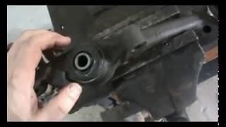 Тойота Краун Маджеста замена сайлентблоков передних рычагов