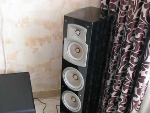 yamaha ns 555 444 333 klipsch sw 450 pioneer vsx 527 avi youtube. Black Bedroom Furniture Sets. Home Design Ideas