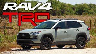 2020 Toyota RAV4 TRD Off-Road: Walkaround, Quick Details