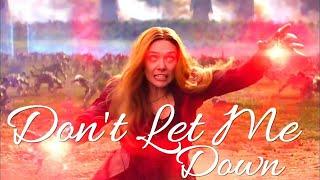 Download lagu Don't Let Me Down || Wanda Maximoff