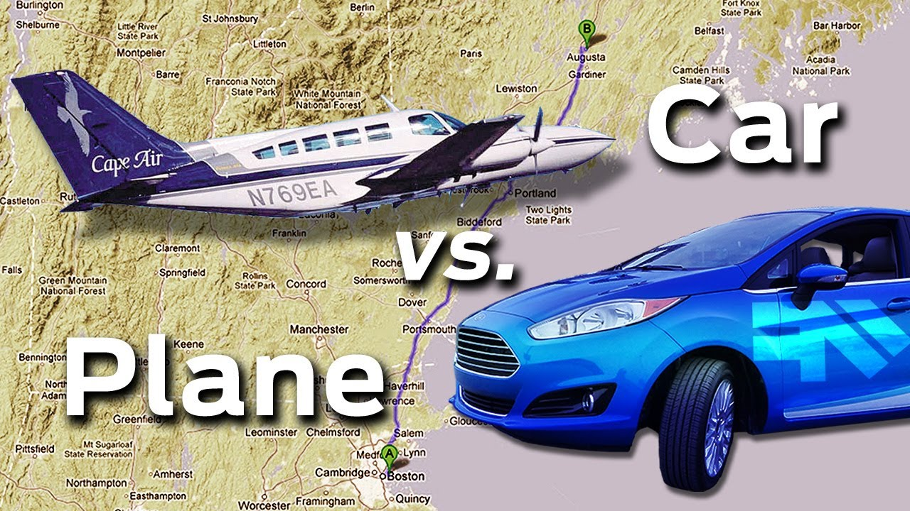 Plane Vs Car Fast Furious Race Youtube