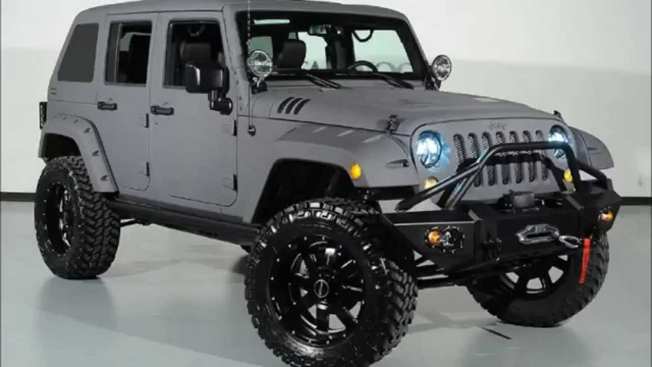 2015 Jeep Wrangler Unlimited Kevlar Coated Fastback Custom