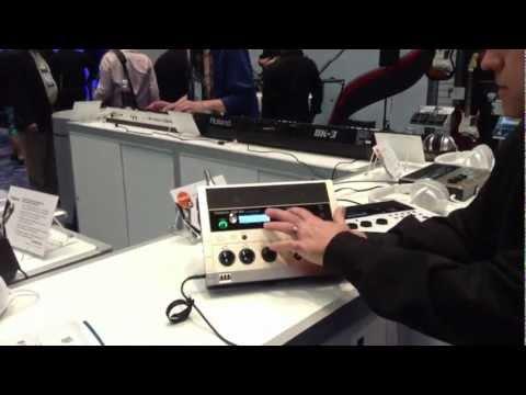 Kraft Music - Roland CD-2U & SD-2U Portable Recorder Demos at NAMM 2013