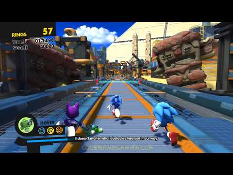 Sonic Forces - Triple Team in Regular Stages