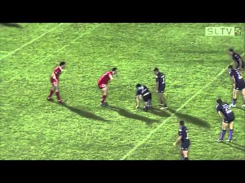 Rugby league attack play