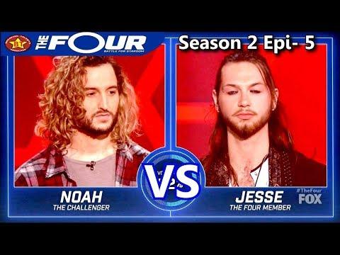 "Jesse Kramer vs Noah Barlass ""Nothing Compares 2 U"" The Four Season 2 Ep. 5 S2E5"