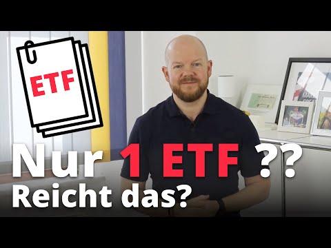 Nur 1 ETF — Reicht Das? | Jens Rabe