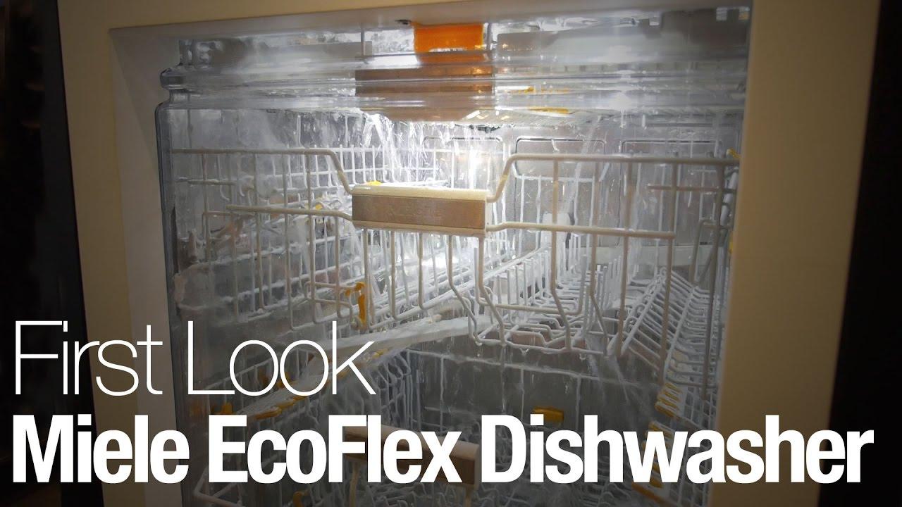 The Miele Ecoflex Is Fanciest Dishwasher We Ve Ever Seen