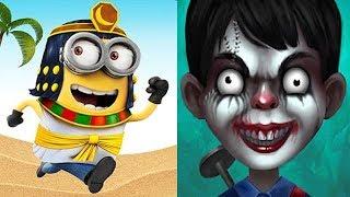 Despicable Me Minion Rush vs Scary Child
