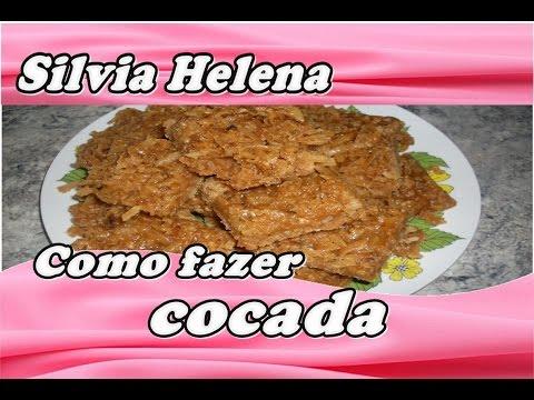 Cocada de Coco Queimado - POR SILVIA HELENA
