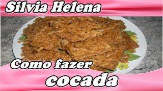 Cocada de Coco Queimado