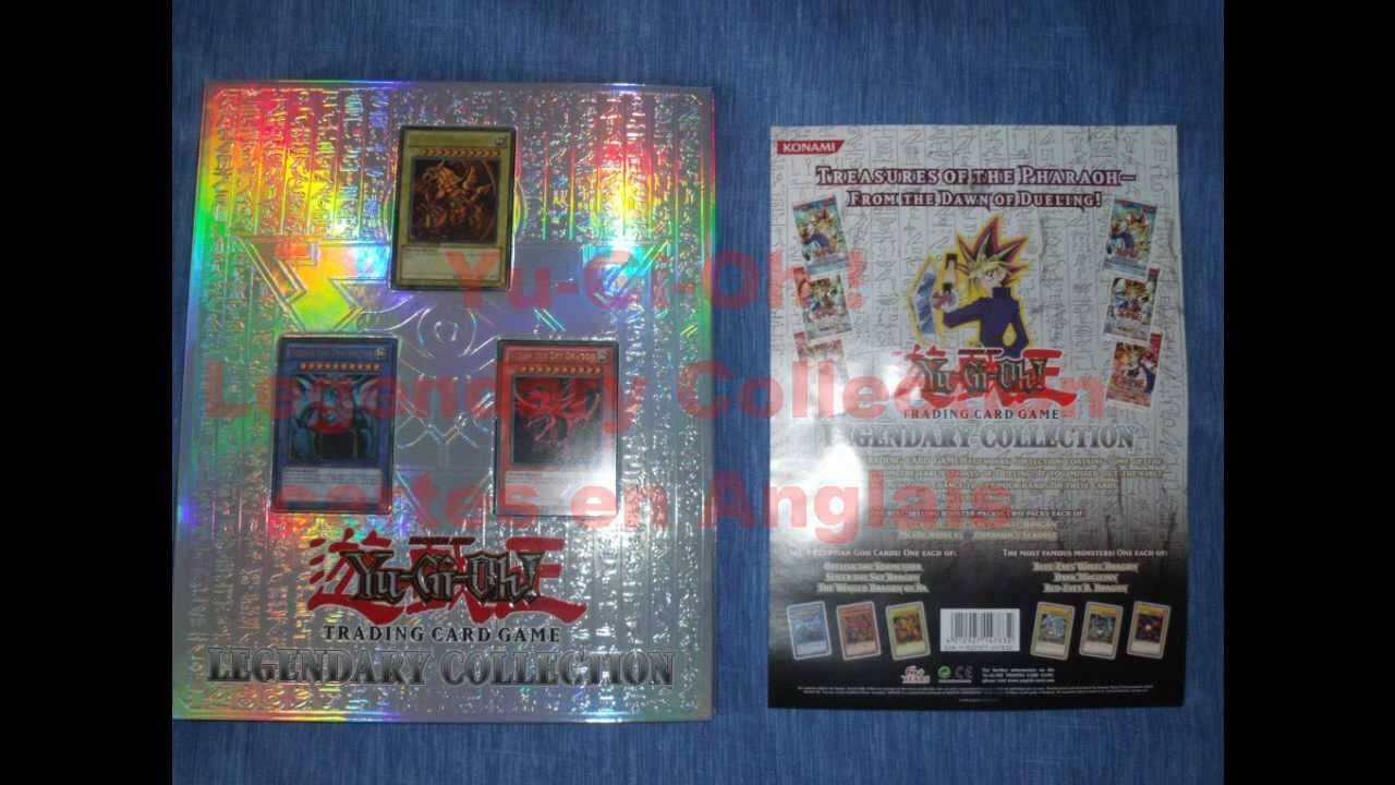 classeur yu gi oh legendary collection