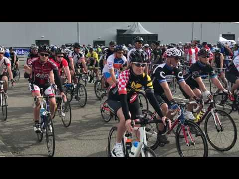 Delta ride for the roses Goes