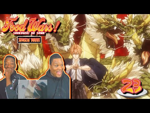 ISSHIKI IS NOT TO BE MESSED WITH!! Food Wars! Shokugeki No Soma - Episode 23 | Reaction