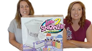 Snow Cone Machine Little Snowie 2 Snow Review - Shaved Ice - YUM!