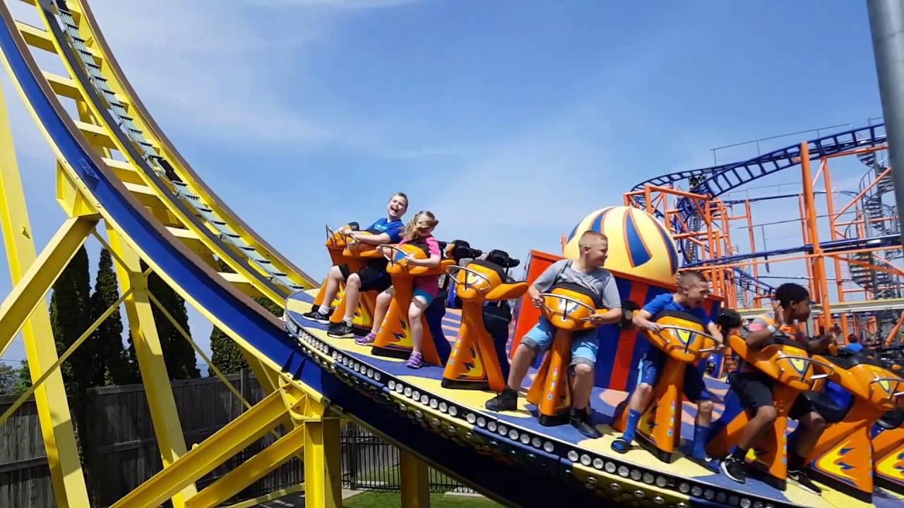 Seabreeze amusement park top ten rides - YouTube