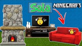 Cover images ★Como fazer Decoração Sala Minecraft PE/PC/PS4/Xbox