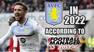 Aston Villa In 2022 According To Football Manager 2017