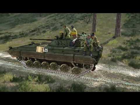 """Кампания """"Дагестан-Опасная дорога"""" для ARMA 3"""