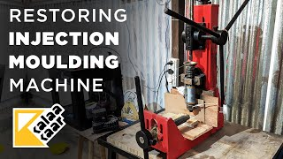 Restoring an old Injection Moulding Machine