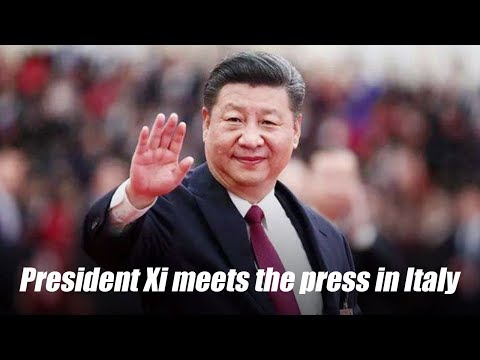 Live: President Xi Jinping meets the press with his Italian counterpart