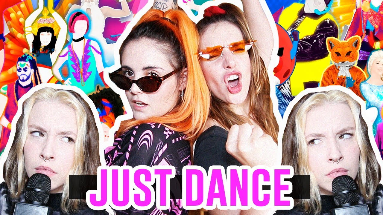 BAILANDO AL JUST DANCE | Andrea Compton ft Inés & Julia
