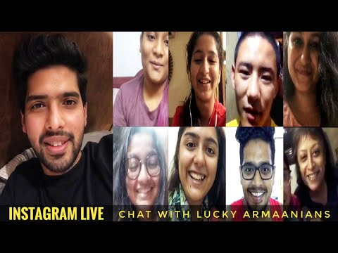 Armaan Malik Instagram Live Chat With Lucky Armaanians || Lovely Live Session || SLV 2019