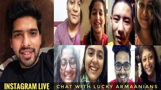 Armaan Malik Instagram Live Chat With lucky Armaanians Lovely Live Session SLV 2019