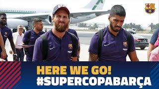 FC Barcelona's trip to Tangier