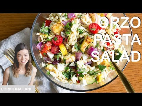 Orzo Pasta Salad - Dinner For Two - Episode 3