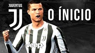 A ESTRÉIA DE CRISTIANO RONALDO NA JUVENTUS  - O INÍCIO - Modo Carreira Jogador #1 (FIFA 18)