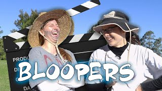 BLOOPERS & bits you didn't see...