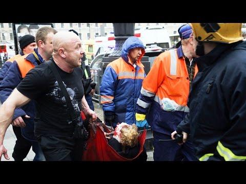 Смотреть Взрыв в питерском метро: много погибших и раненых | НОВОСТИ онлайн
