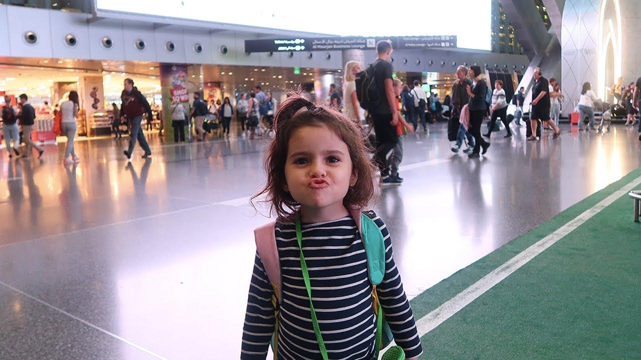 De Moscou para Brasilia | Viagem longa de avião com 4 crianças | Thalita Campedelli