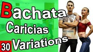 Bachata-Salsa Tutorial 30 : Caricias variations | Marius\\u0026Elena (2019)