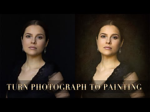 How To Create Painterly Effect In Photoshop. EASY!  VOL2